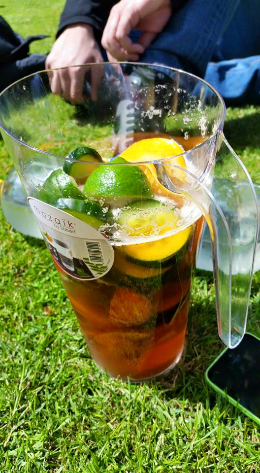 Another Food Blog garden party pimms