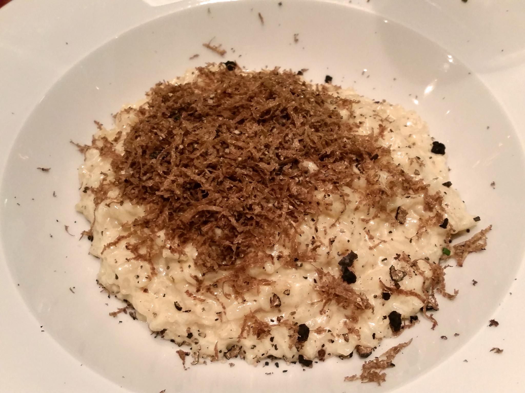Bistrot Chaud-Vin Truffle risotto