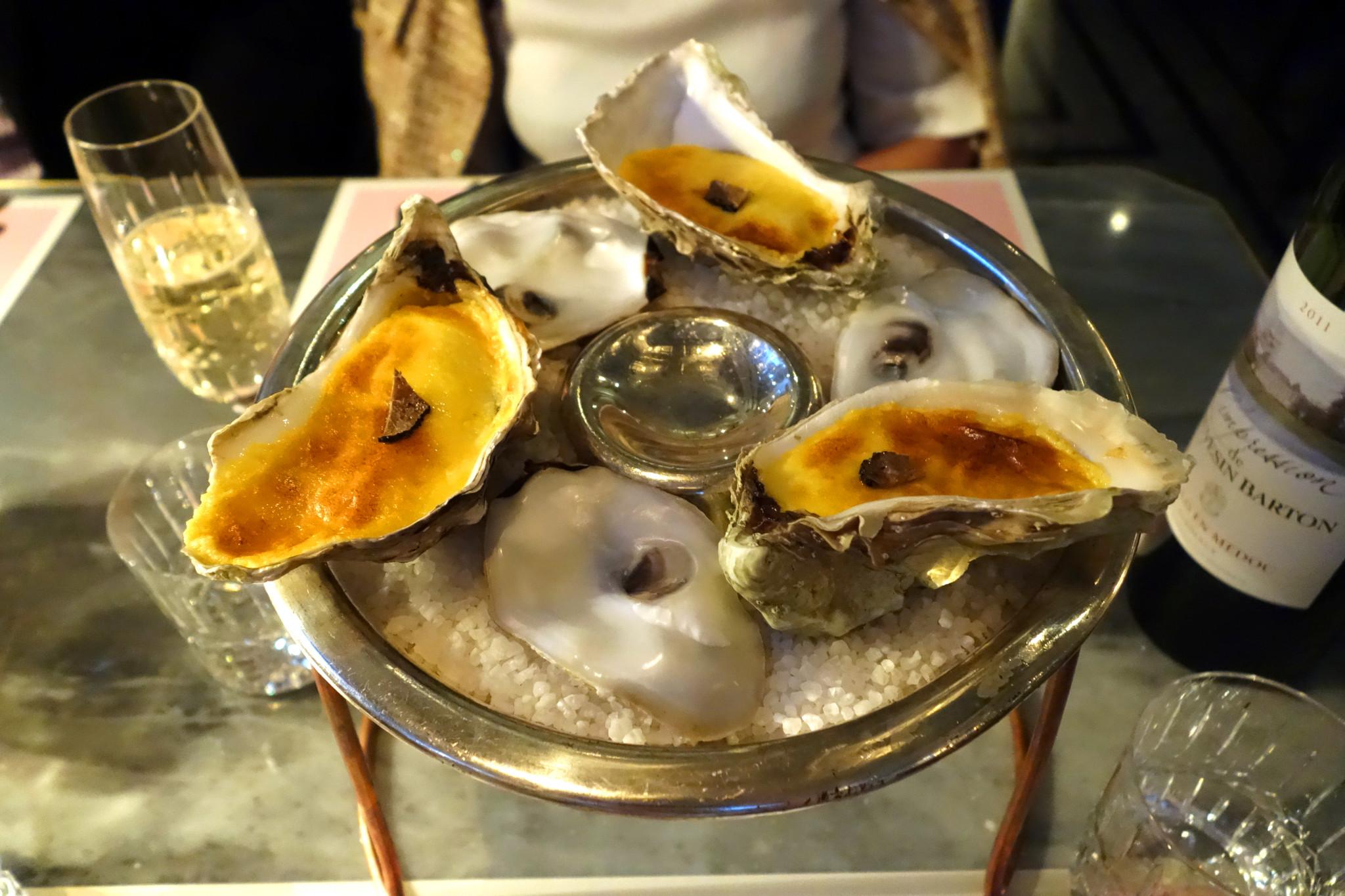 Bob Bob Ricard Grilled Oysters De Gaulle