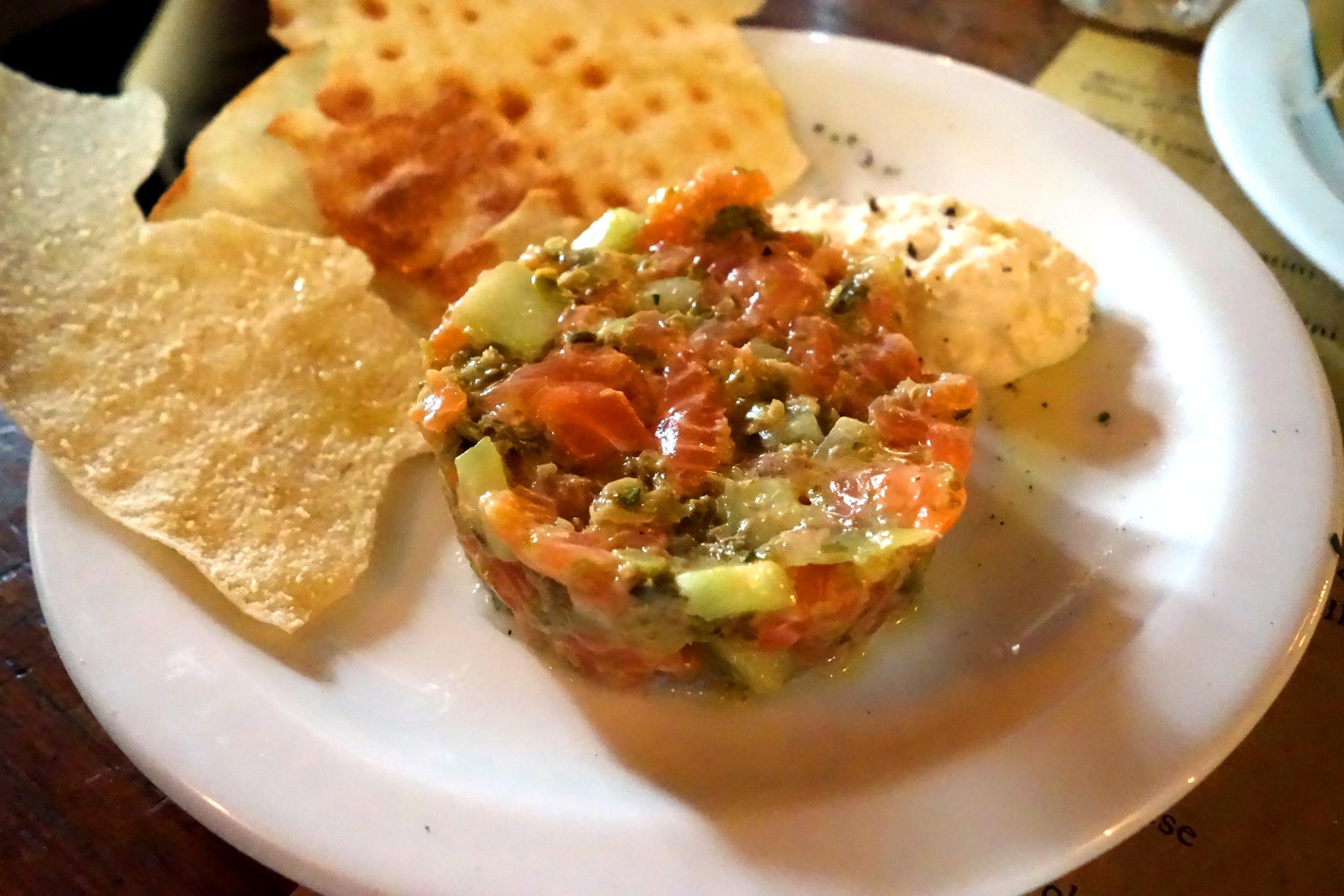 Pulpo salmon tartare 2
