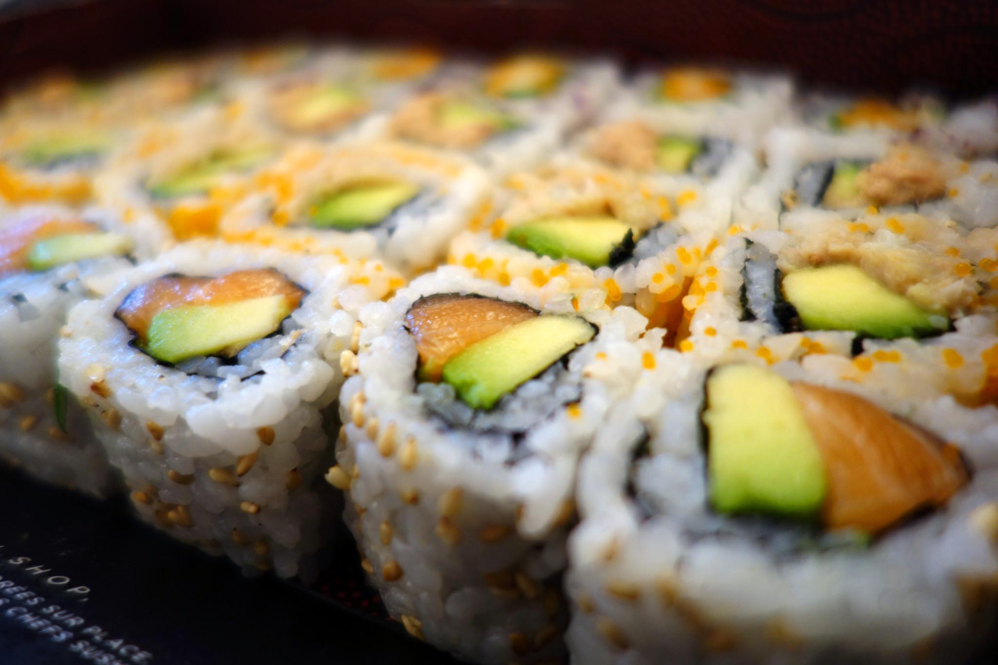 Sushi shop salmon  box 1