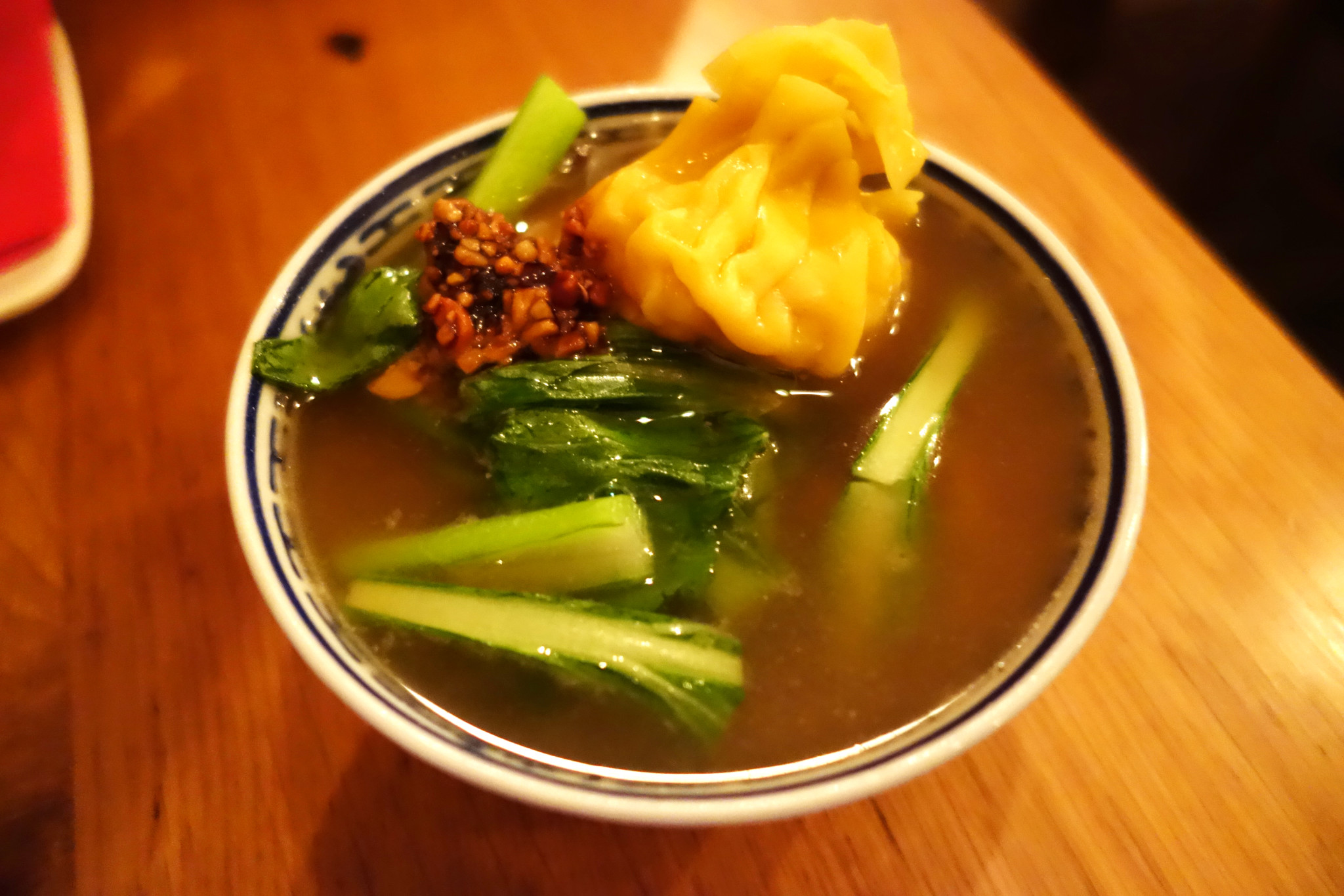 Wonton noodle soup - Joe's oriental diner
