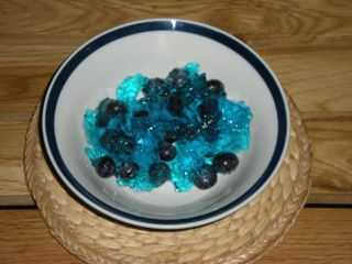 blueberry-jello