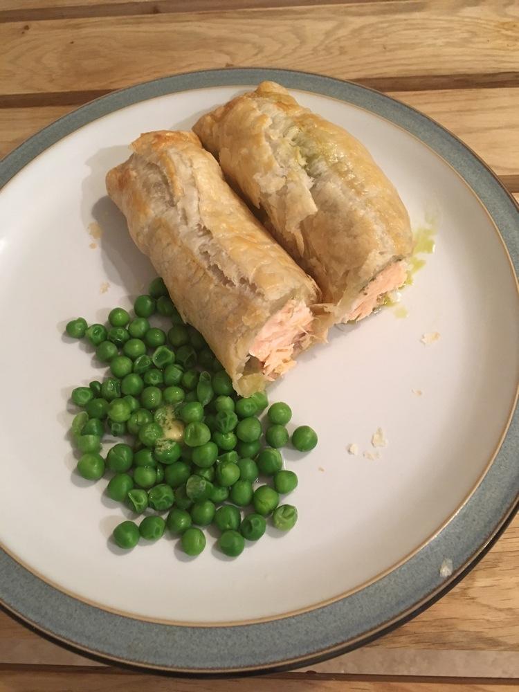 saumon croute