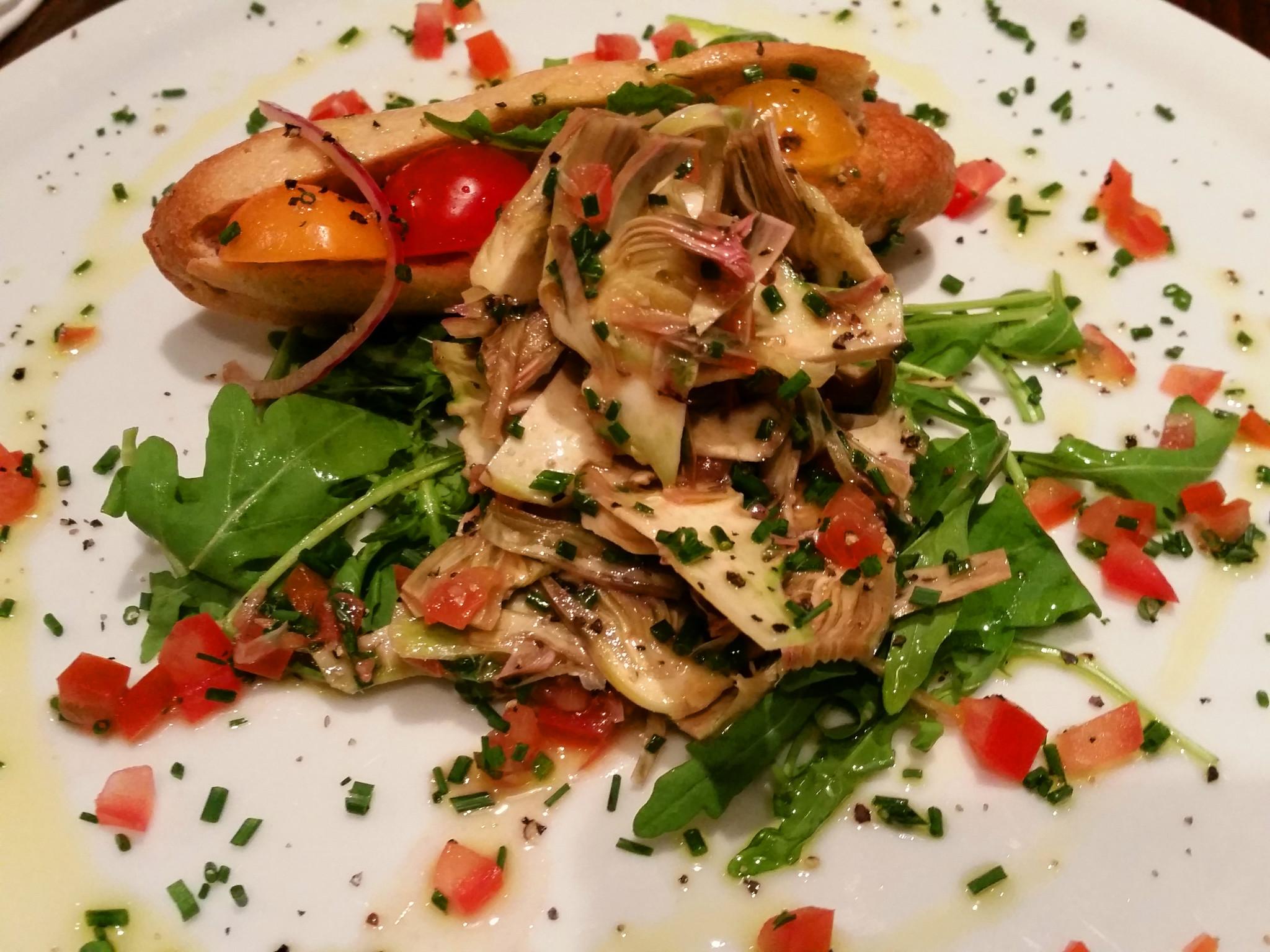 Bistrot Chaud-Vin salad