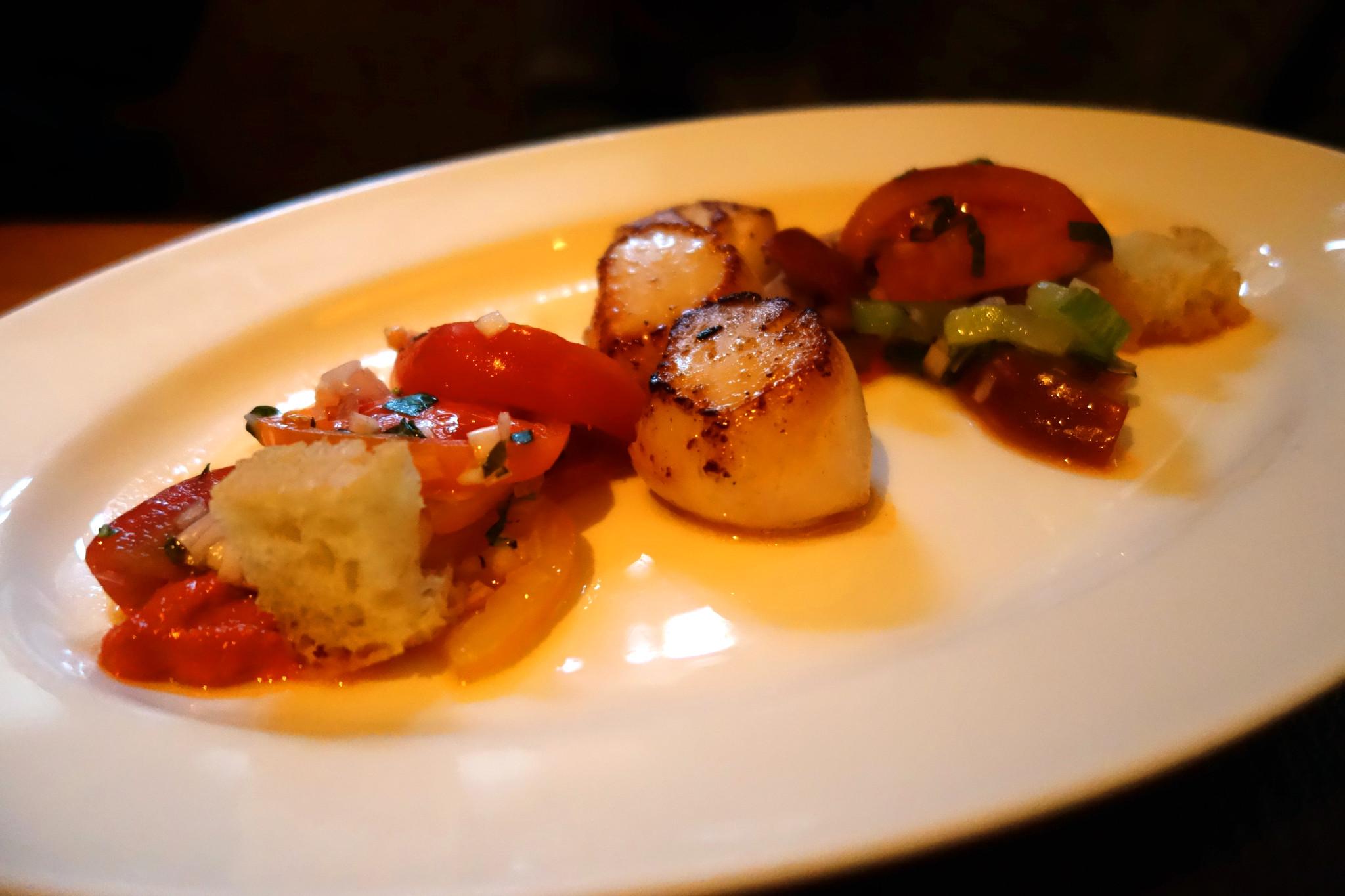 bar boulud scallops
